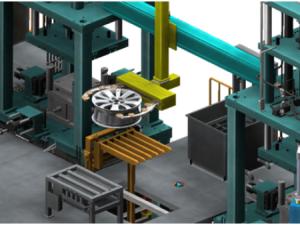 全自动低压铸造机